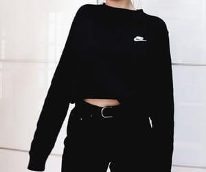 fashion, nike, and aesthetic image