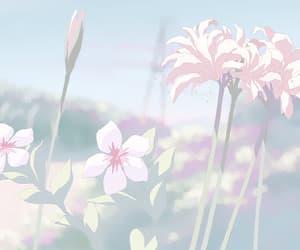 flowers, gif, and anime image