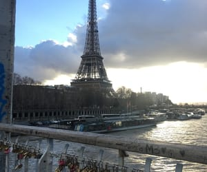 capital, eiffel tower, and france image