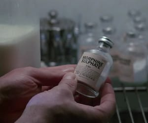 1987, Mickey Rourke, and morphine image