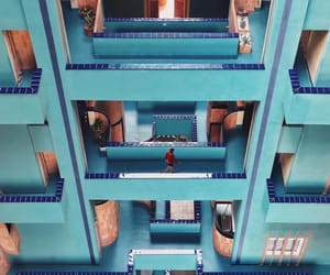 architecture, blue, and turquoise image