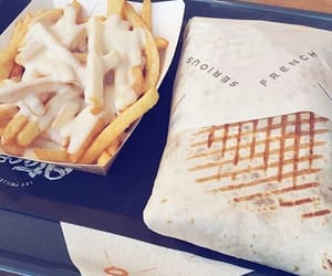 food, fries, and nourriture image