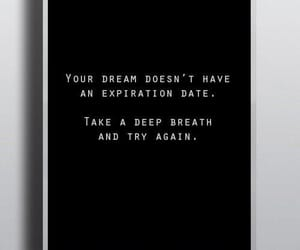 quotes, black and white, and Dream image