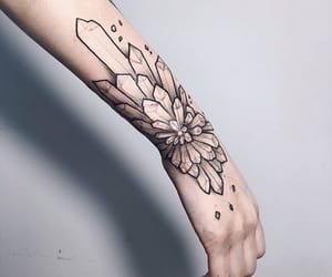 crystal and tattoo image