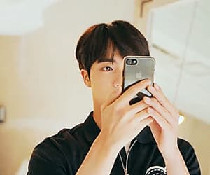 jin, bts, and gif image