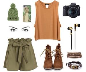 brown, clothes, and eyes image