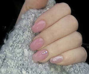 nails, nudenails, and nailsart image