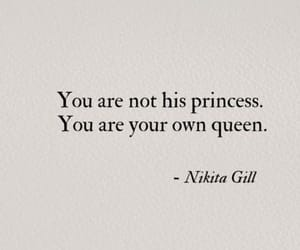 quotes, Queen, and princess image