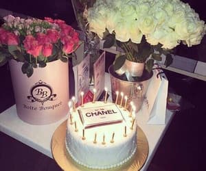 birthday, cake, and chanel image