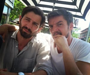 michiel huisman, pedro pascal, and game of thrones image
