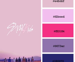colour palette, kpop, and stray kids image