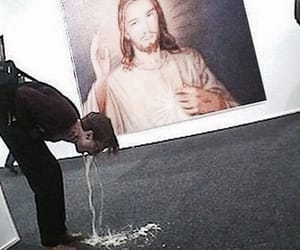 jesus, funny, and god image