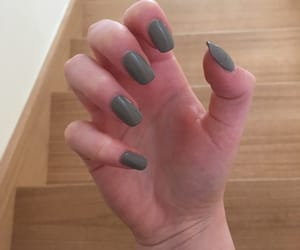 grey, nails, and 50shadesofgrey image