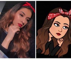 beauty, brown hair, and cartoon image