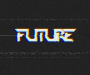 future and retro image