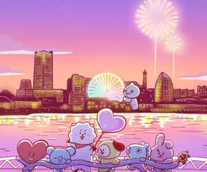 bt21, bts, and rj image