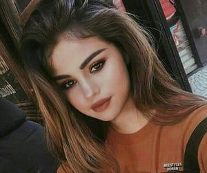 selena gomez, makeup, and beauty image