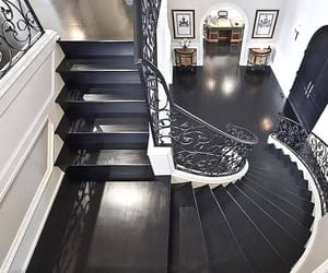 home, stairs, and house image