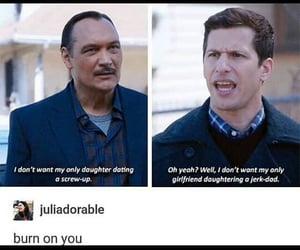 funny, sitcom, and brooklyn nine nine image