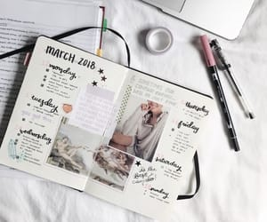 planner, bullet, and diary image
