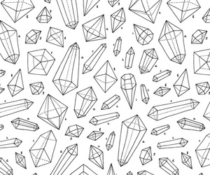 crystal and illustration image