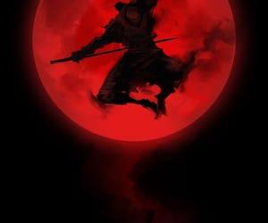 art, ninja, and warrior image