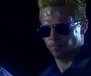 gif, jill valentine, and albert wesker image