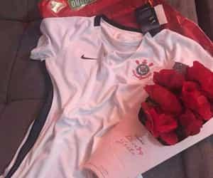 camisa, flowers, and futebol image