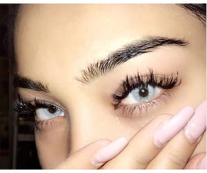 eyes, gorgeous, and brows image