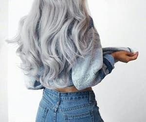 beautiful, hair, and girl image