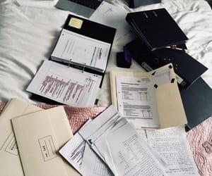 college, desk, and dorm image