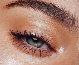 eye, beauty, and makeup image