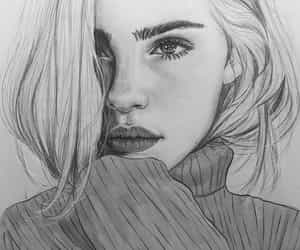 914 Images About Black And White Draw Girl On We Heart It See More