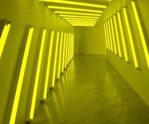 yellow, aesthetic, and glow image
