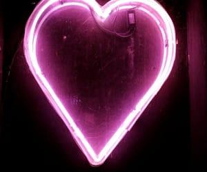 black, pink, and corazón image