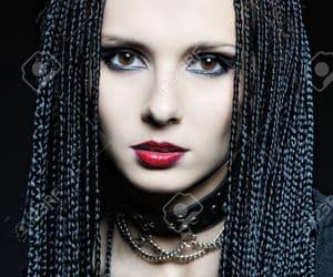 beautiful, dreads, and braids image