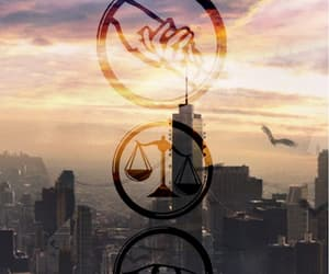 divergent, factions, and insurgent image