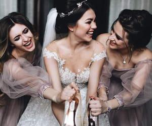 زفاف, صديقات, and عرس image
