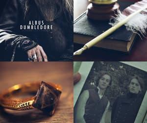 aesthetic, albus dumbledore, and book image