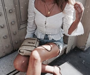 chic, outfit, and summer image