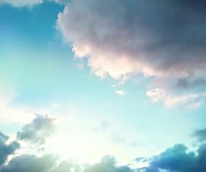 blue, colors, and sky image