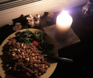 candle, earth hour, and home image