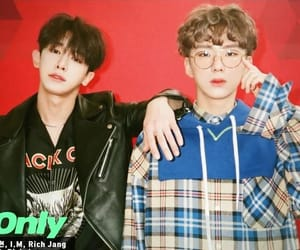shin, yoo, and wonho image