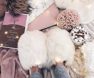 fluffy, cozy, and home image