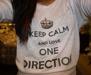 one direction, 1d, and keep calm image
