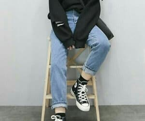 fashion, style, and converse image