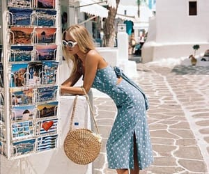 fashion, summer, and girl image