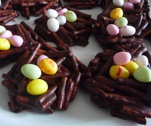 chocolate, easter, and food image