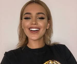 girl, site model icons, and val mercado image