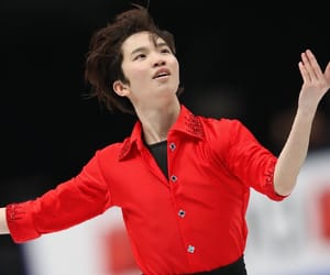 figure skating, 2018, and 友野一希 image